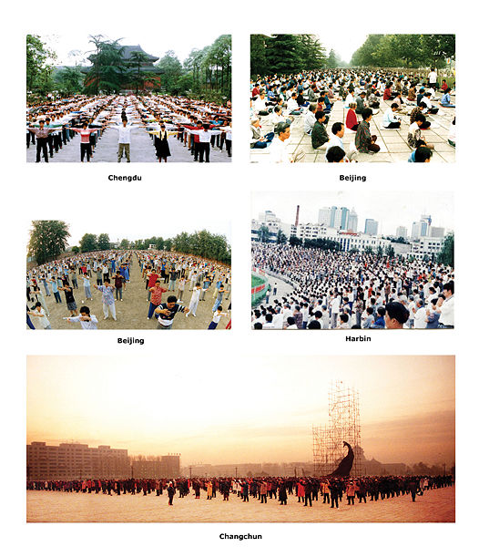 Falun Gong Practice in China